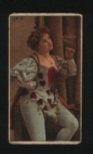 Collectible very Old Rare tobacco cigarette card Beauty Erotic